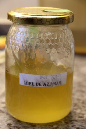 Azahar ist das spanische Wort für Orangenblüte - wieder was gelernt